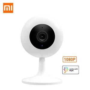 Image 1 - Xiaomi mijia xiaobai スマートカメラ人気バージョン 1080 720p の hd ワイヤレス無線 lan 赤外線ナイトビジョン 360 角度 ip カム cctv