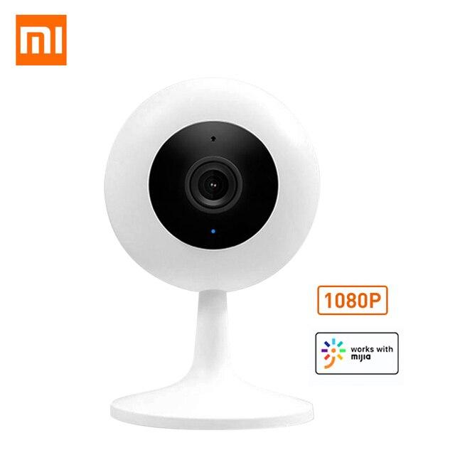 Xiaomi mijia xiaobai スマートカメラ人気バージョン 1080 720p の hd ワイヤレス無線 lan 赤外線ナイトビジョン 360 角度 ip カム cctv