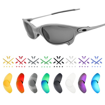 Mryok Replacement Lenses and Black Rubber Kit for-Oakley Juliet X-Metal Sunglasses - Multiple Options