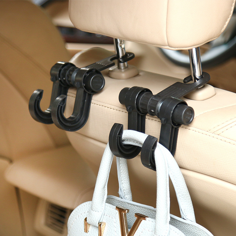 Creative Travel Accessories Portable Multifunction Double Hook Unisex Car Organizer Journey Classification Security Accessory