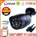 Onvif cable 720 P 960 P 1080 P cámara IP P2P detección de movimiento RTSP 48 V POE alerta de correo electrónico vmeyesuper de impermeable ip66 al aire libre 1MP 1.3MP 2MP