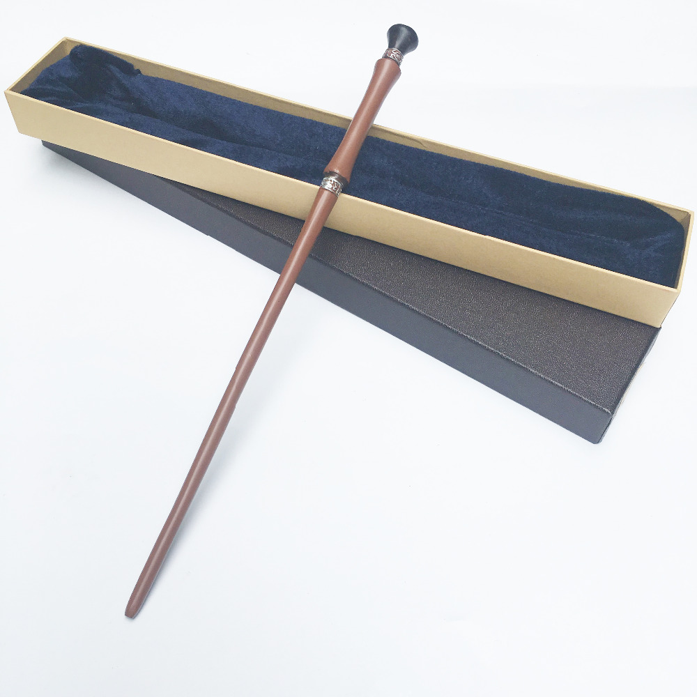 Colsplay Metal Core Newest Quality Deluxe COS Pius Thicknesse Magic Wands/Stick With Gift Box Packing HP