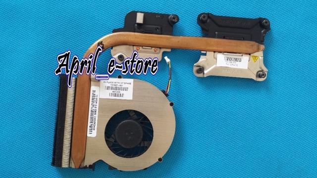 NOVO para HP Probook 450 455 470 Ventilador De Refrigeração do dissipador de calor 721937-001, para laptops com gráficos discretos (memória gráfica dedicada)
