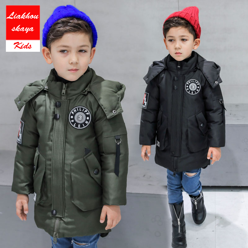2018 New Fashion Children Coats & Jacket Kids Zipper Jackets Boys Thick Winter Jacket High Quality Boy Winter Coat Kids Clothes boys lamb wool jacket coats winter boy coat children fashion outerwear kids clothes boutique clothing