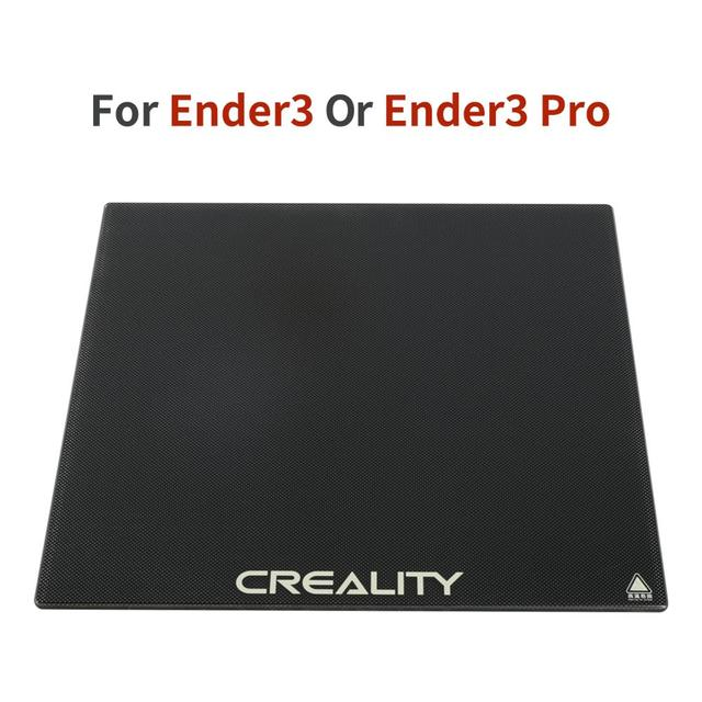 CREALITY 3D Tempered Glass Platform Heated Bed Build Surface Fit For Ender-3/Ender-3 Pro/Ender-5/CR-20/CR-20 Pro Printer