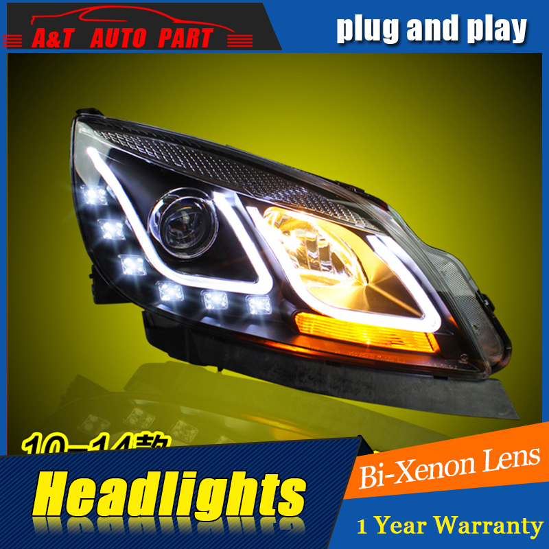 A&T Car Styling For Buick Excelle gt headlights For Excelle LED head lamp Angel eye led DRL front light Bi-Xenon Lens xenon HID for buick lacrosse excelle gt excelle xt verano light led moving front door scuff sticker sill plate pedal protector styling