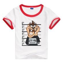 걸즈 티셔츠 소년 소녀 셔츠 여름 셔츠 만화 셔츠 아동복 소매 셔츠 브랜드 셔츠