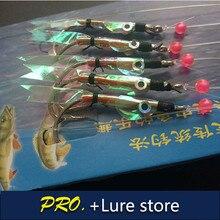 Free shipping 5packs 2017 new artificial sabiki fishing lure jigs special fish skin sabiki baits jigging hooks sabiki lure