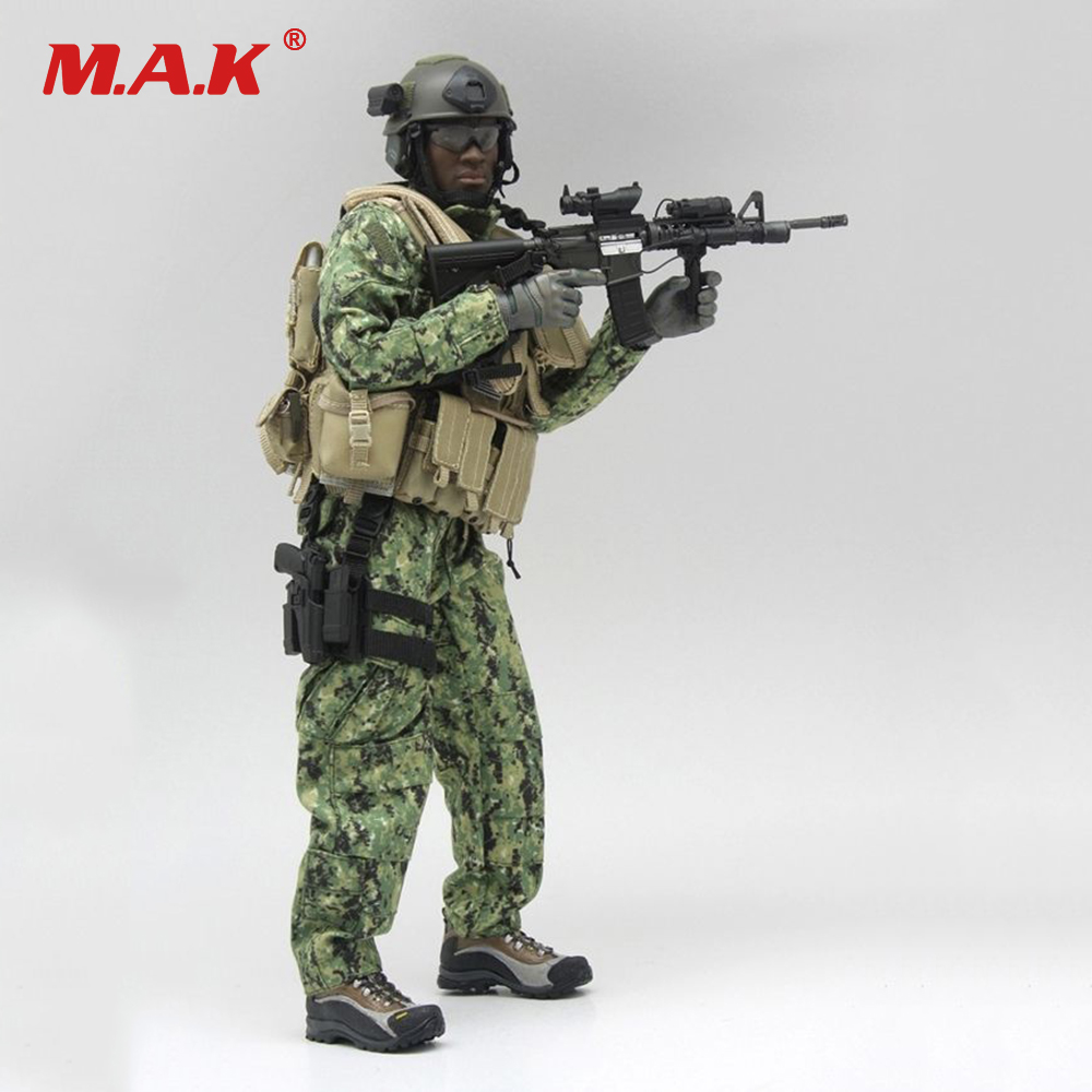 DIY 1032 1/6 Scale Male Solider Clothes Set US Navy Military Costume for 12inch Collectible Action Figures Body new very cool action toy figures 6 pcs orcs with weapon ancient military solider model set diy assembly half orc model puppet
