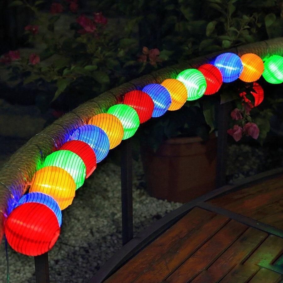 led string fada luz 10 20 30