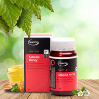 Оригинальный Новозеландский Comvita мед manuka UMF18 + для желудочно кишечного иммунной здоровья дыхательных путей Системы кашля успокоить кашля в