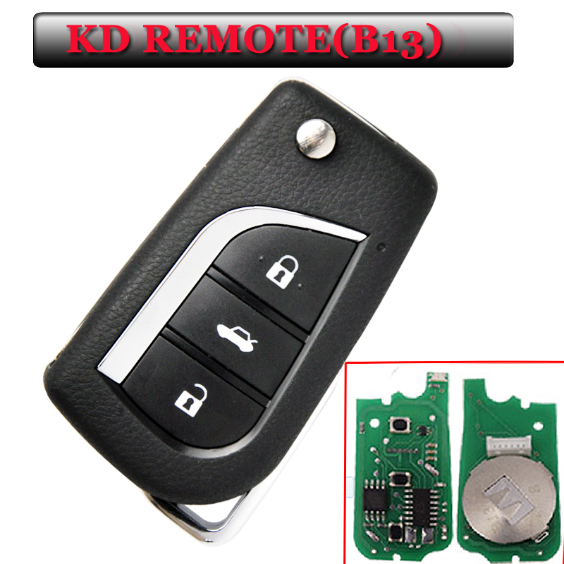 New Arrival free shipping B13 KD remote 3 Button Remote Key for URG200/KD900/KD200(1 piece)