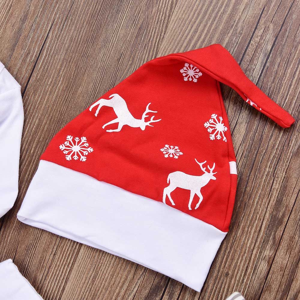 HTB1lF YcwsSMeJjSspeq6y77VXaS Baby Winter Clothes Newborn Infant Baby Boy Girl Romper Tops+Pants Christmas Deer snowflake Outfits Set baby christmas clothes
