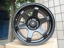 4 New 15×7.0 Rims wheels et 30mm  CB 73.1mm  Alloy Wheel Rims Satin Black W500 in high quality