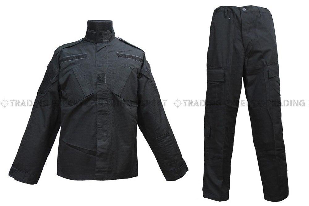 Us Army Military Uniform For Men Black BDU Uniform [CL-02-BK]