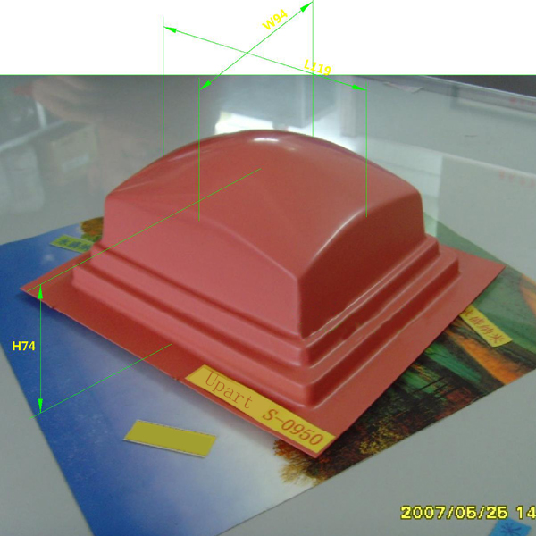 Pad Printing Large Square Rubber Pads