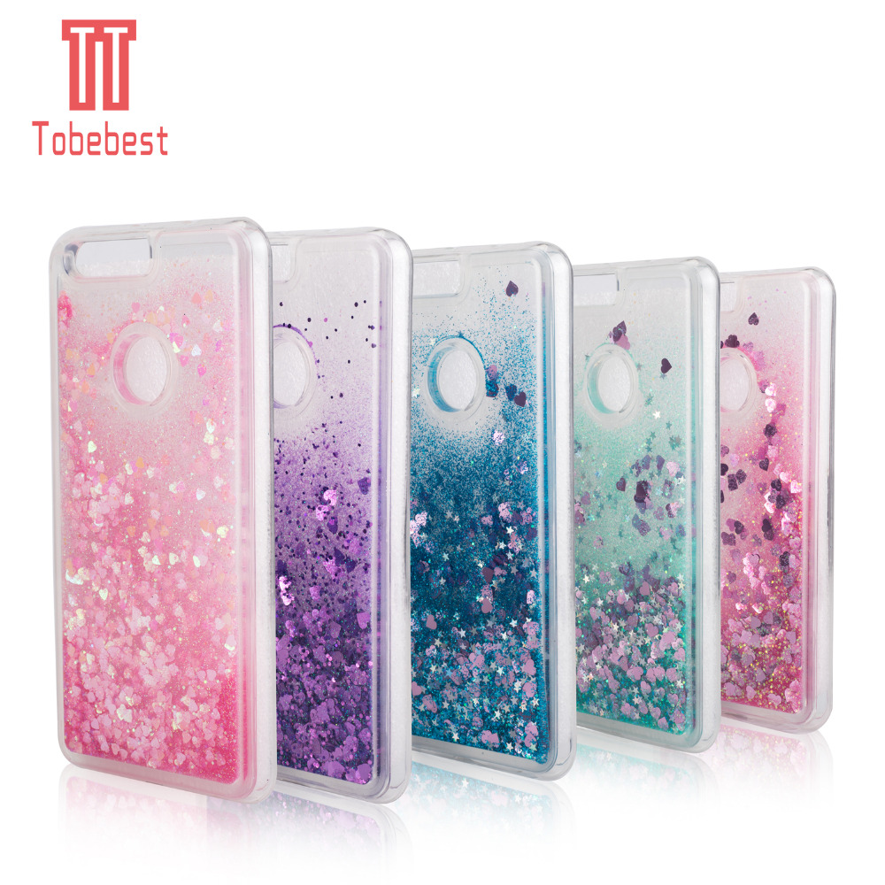 Half-wrapped Case Cellphones & Telecommunications Huawei Honor 9 Lite Liquid Glitter Case Dynamic Quicksand Star Tpu Cases For Huawei Honor 8 Lite Silicone Crystal Back Cover