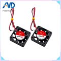 5pcs 4010 Cooling Fan 12V 2 Pin with Dupont Wire Brushless 40*40*10 Cool Fans Cooler Radiato For Anet A8 A6 3D Printers Parts|cooling fan 3d printer|3d printer cooling|for 3d printer -