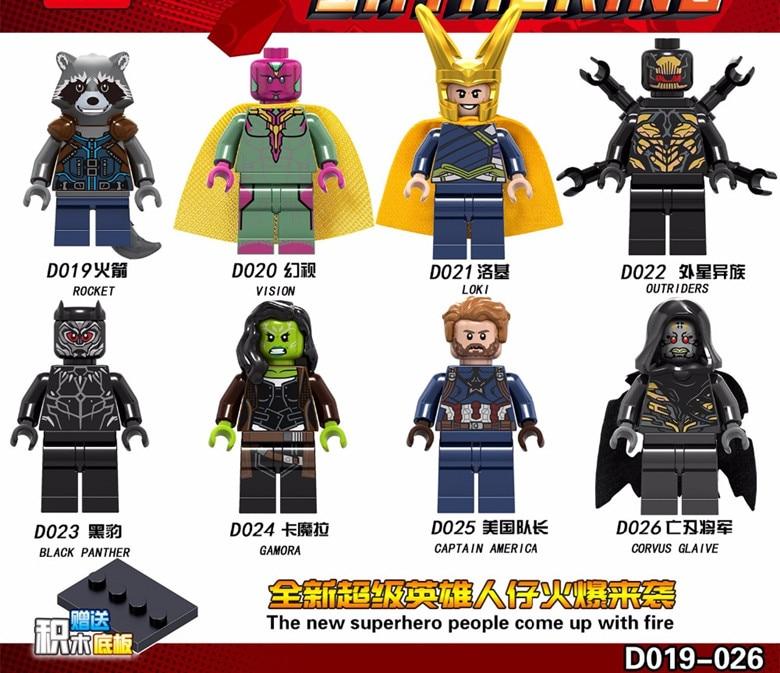 8 PCS Unikitty Super Heroes Friends Legoing Unikitty Angry Toy