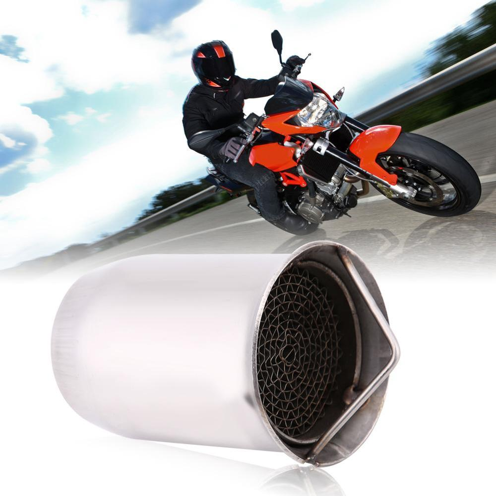 Universal 51mm  Motorcycle Exhaust Muffler Pipe  Silencer  Escape For suzuki gsr 600 750 crf 230 cb650f DB killer|Exhaust & Exhaust Systems| |  - title=