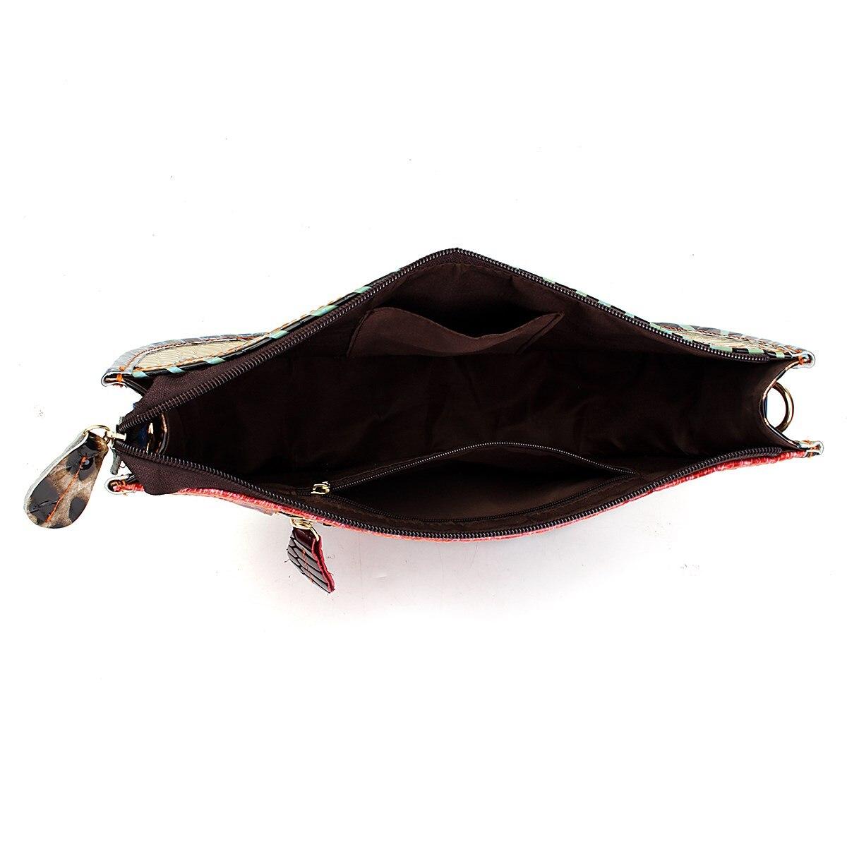 cor aleatória Bag Estilo 2 : 100% Genuine Leather Women Shoulder Bag