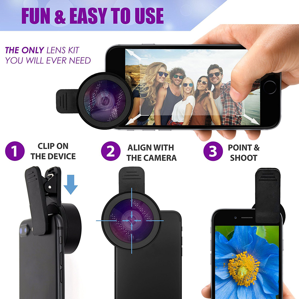 APEXEL Phone Lens kit 0.45x Super Wide Angle & 12.5x Super Macro Lens HD Camera Lentes for iPhone 6S 7 Xiaomi more cellphone-in Mobile Phone Lenses from Cellphones & Telecommunications on Aliexpress.com | Alibaba Group 8