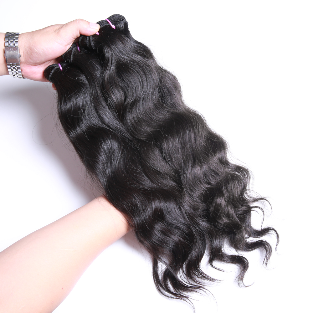 Free shipping 3 bundles Unprocessed virgin Indian hair curly human - Hair Salon Supply - Photo 3