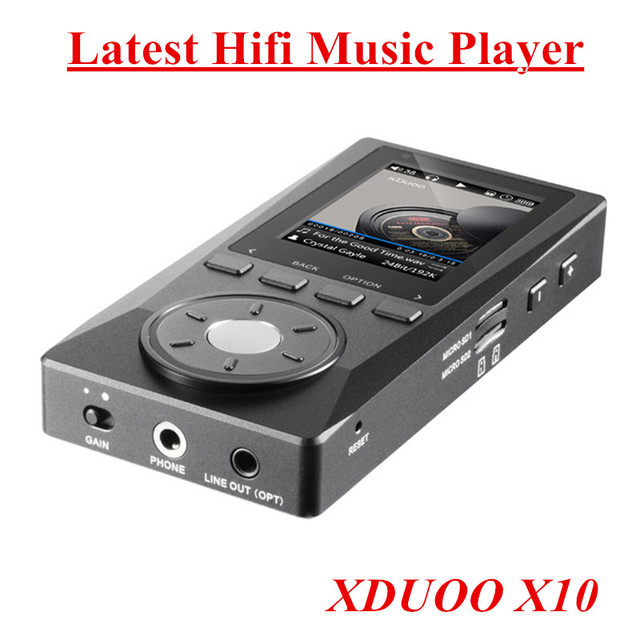 Últimas XDUOO X10 X10 Original Genuino de ALTA FIDELIDAD Reproductor de Música Portátil de Alta Resolución Sin Pérdidas DSD DAP Reproductor de Música Reproductor de MP3