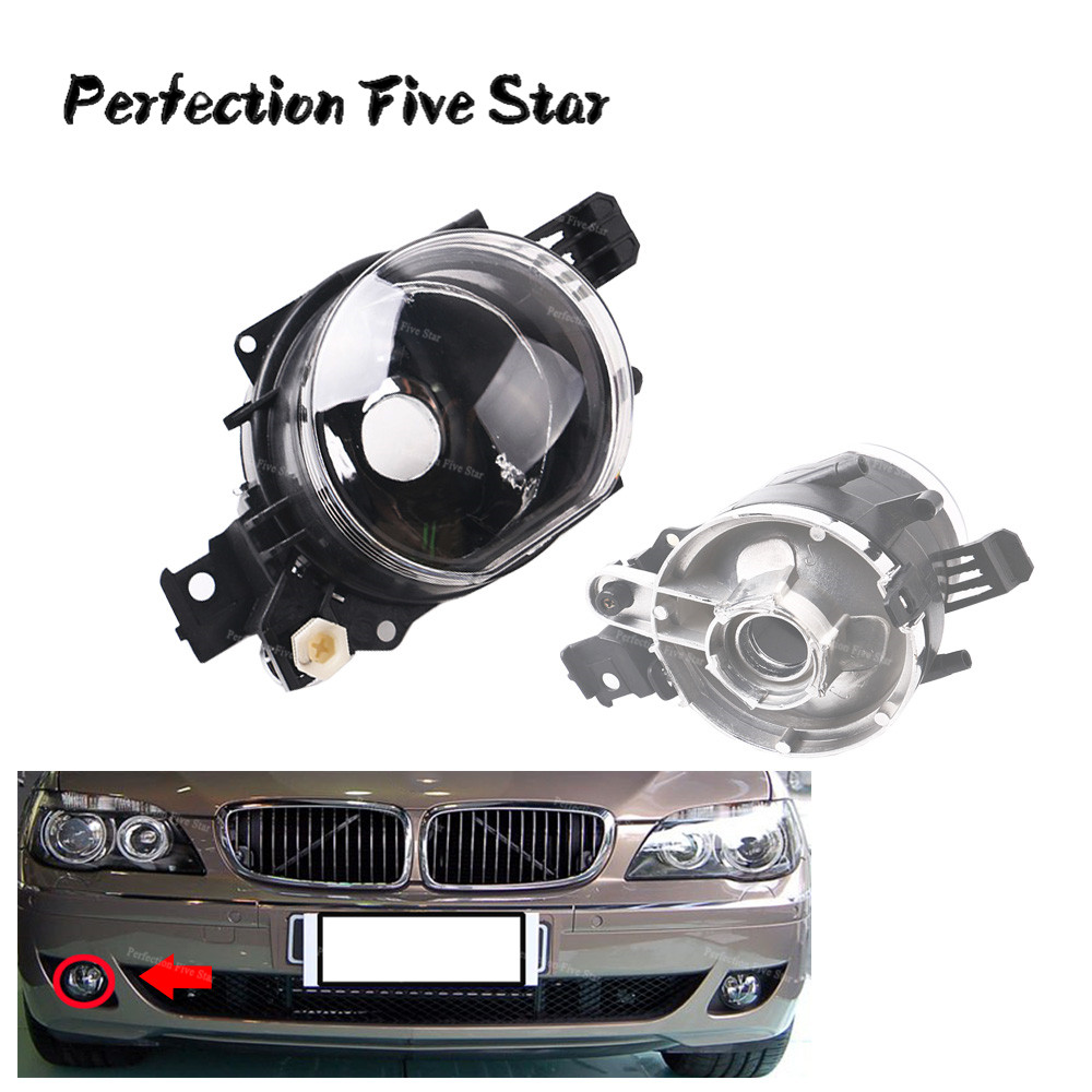 Fog Light Left Side without Light Bulb Included For BMW E65 E66 745i 750i 750Li