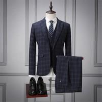 3-Picese-Suit-Jacket-Vest-Pant-2017-Fashion-Man-Suit-Slim-Blue-Plaid-tow-Button-Weeding.jpg_200x200