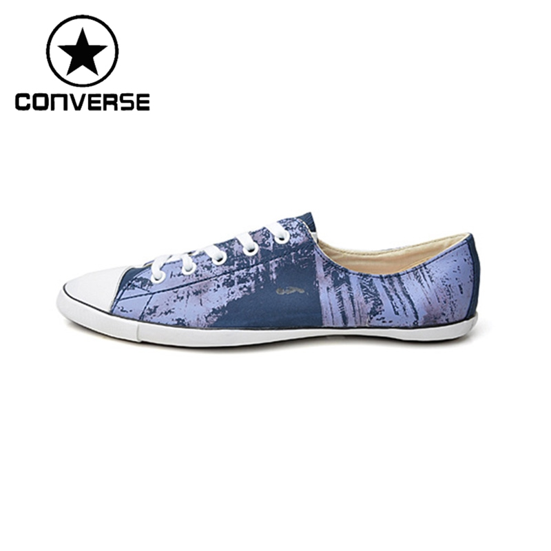 Original Converse Women's Skateboarding Shoes Leather Sneakers dooley j blockbuster 3 students book pre intermediate international учебник isbn 978 1 84558 633 1