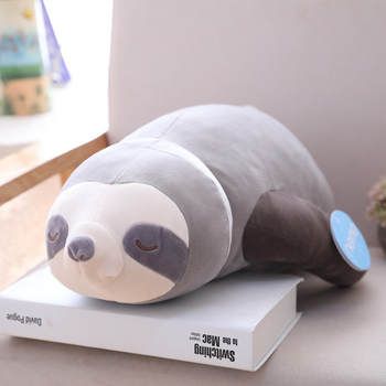 1pc Soft Simulation New Arrival Cute Stuffed Sloth Toy 1