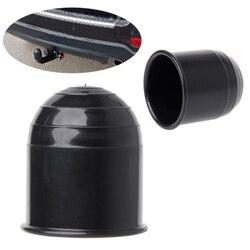 QILEJVS uniwersalny 50MM Auto zaczep kulowy haka holowniczego czapka zaczepu przyczepa kempingowa Towball Protect