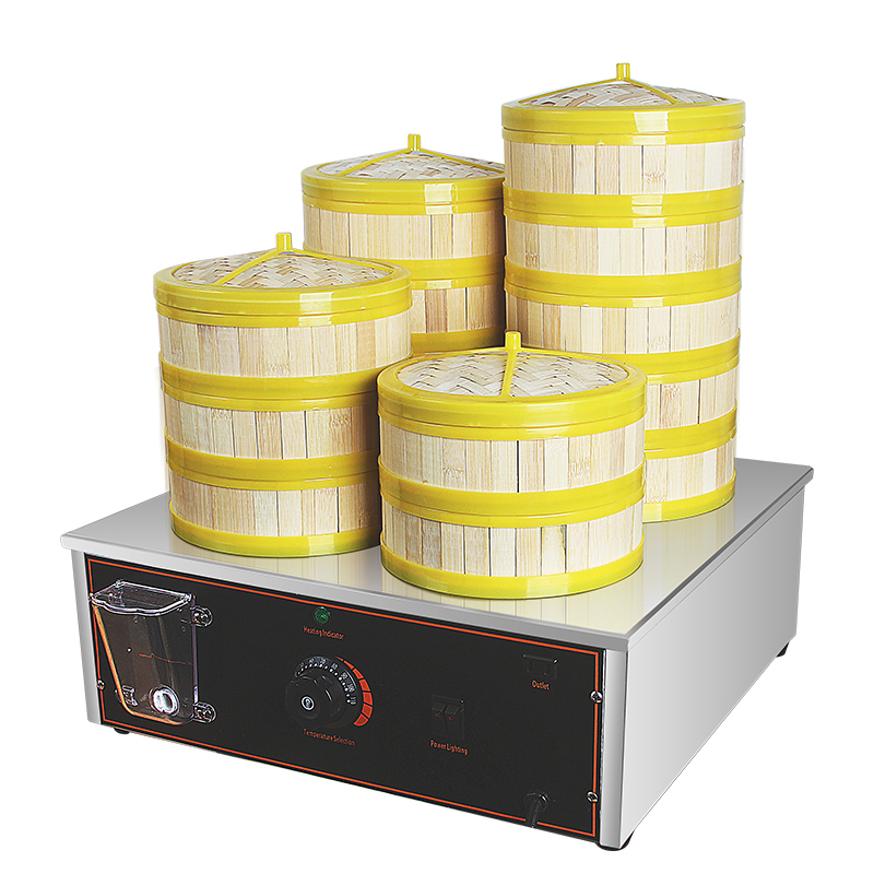 RY-FC-500ZBL Small Electric heating type steamed stuffed bun machine Quick steaming type Thermal insulation steam ladle furnace