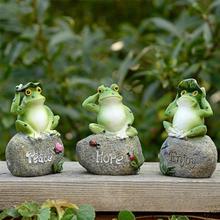 3PCS Frog Shaped Garden…
