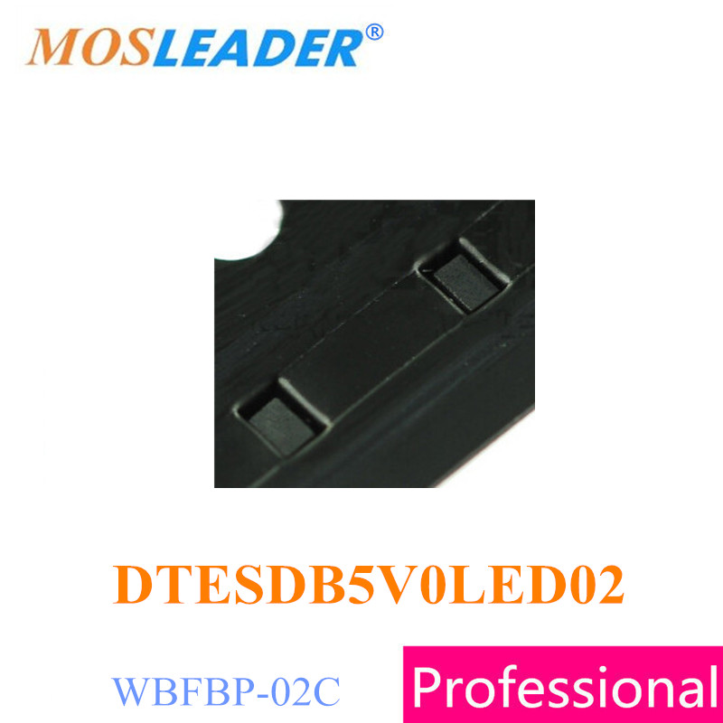 Mosleader DTESDB5V0LED02 WBFBP-02C 3000PCS 10000PCS 5V Bi direction ESD Protection High quality 3000pcs 78l05 l05 sot 23 5v original new