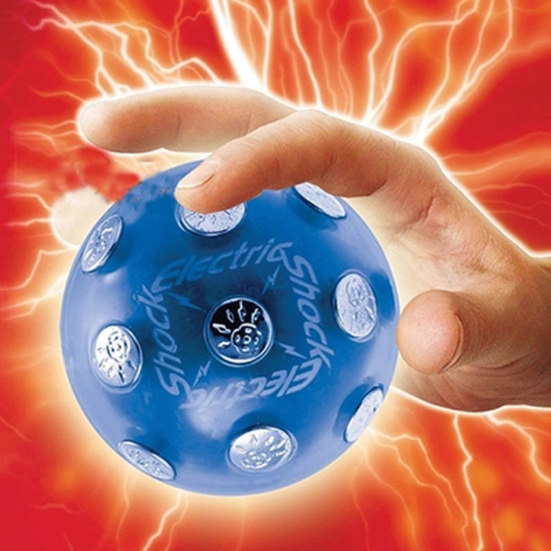 Hot! Funny 2017 Electric Shock Shocking Glowing Ball Game X'mas Party Entertainment Toy Gift Y13 S2