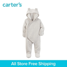 Carter s 1 Piece baby children kids clothing Boy Fall Winter Sherpa Lined Hooded Bunting 127G653