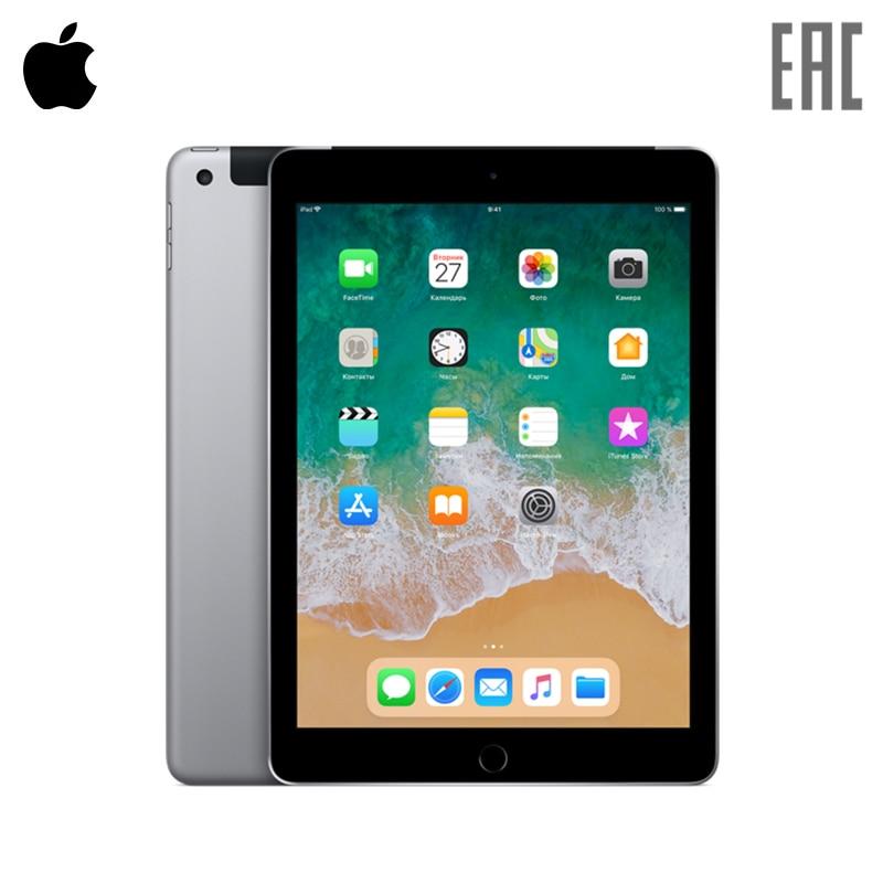 Планшет Apple iPad Wi-Fi+Cellular 9.7″ 128 ГБ (2018)