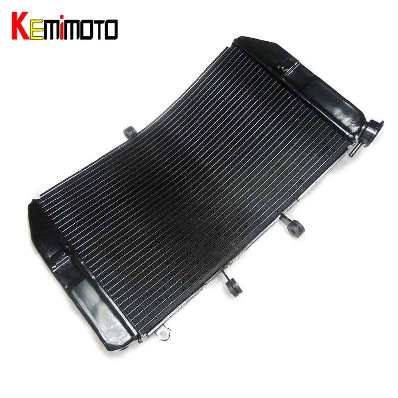 KEMiMOTO For Honda CBR600RR CBR600 RR 2003 2004 2005 2006 Motorcycle Accessories Radiator Aluminum Radiator Cooler Cooling Kit for honda hornet 600 hornet600 cb600 2003 2006 2004 2005 motorcycle accessories radiator grille guard cover fuel tank protection