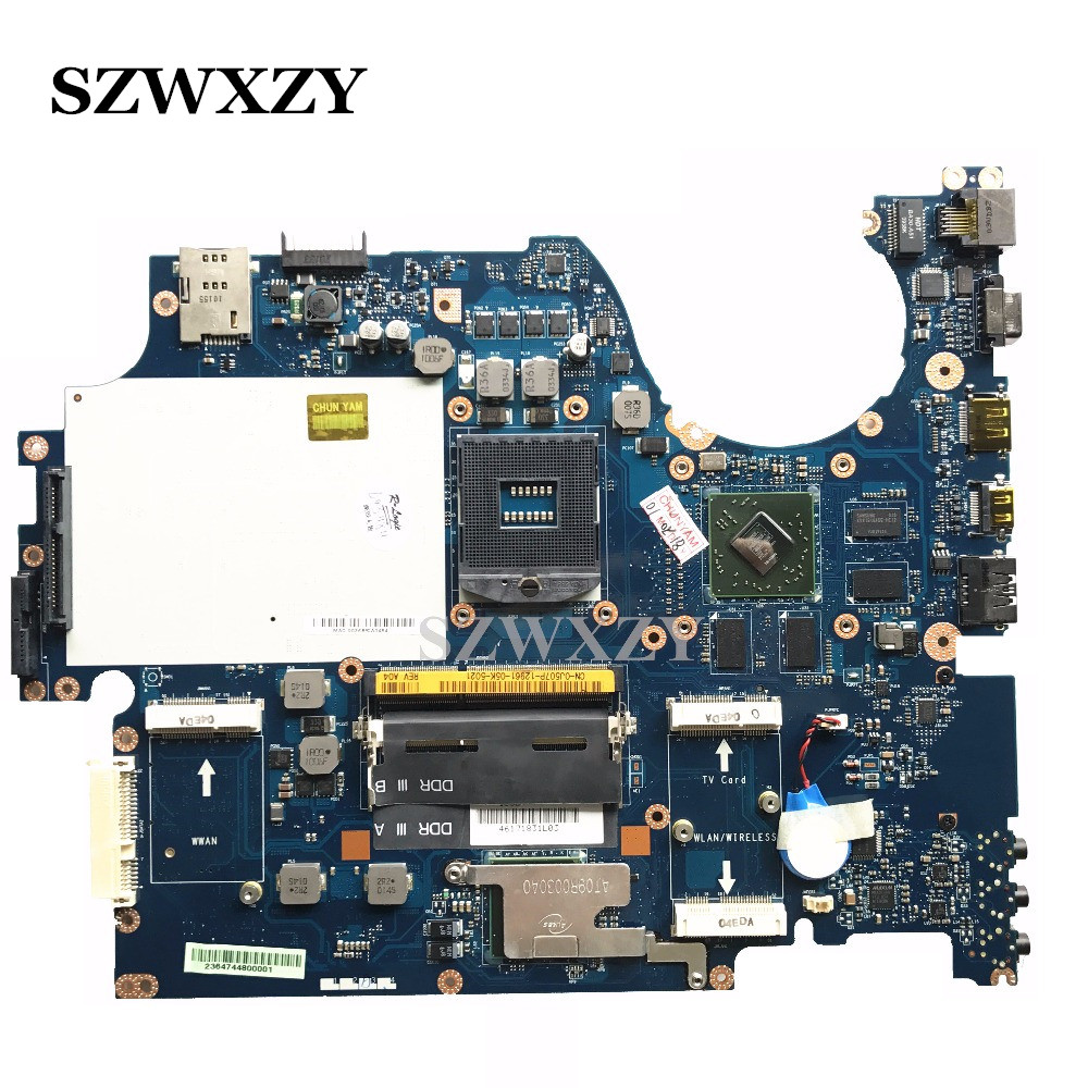 De alta calidad para DELL 1747 serie placa base de computadora portátil CN 0J507P 0J507P J507P NAT01 LA 5153P DDR3-in Placa base de portátil from Ordenadores y oficina on AliExpress - 11.11_Double 11_Singles' Day 1