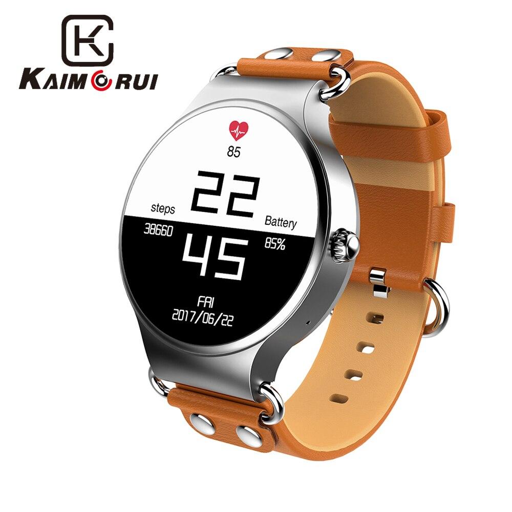 Kaimorui Smart watch Android 5.1 Quad Core inteligentny zegarek 512 MB + 8 GB karta SIM do smartwatcha GPS WiFi połączeń przypomnienie dla androida z systemem IOS w Inteligentne zegarki od Elektronika użytkowa na  Grupa 1