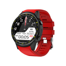 "Smart Watch F1 1.3"" GPS Sim TF sport watch with Multi-sport Dials Mode Heart Rate Sleep Monitor smartwatch for IOS Android FS08"
