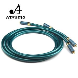Image 4 - Аудиокабель ATAUDIO, Hi Fi, RCA, Hi Fi, усилитель, CD, разъем 2RCA на 2RCA, 1 м, 2 м