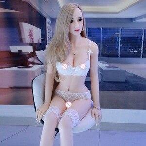 Image 3 - Секс куклы 158 см #64 полностью из тпэ со скелетом, взрослая японская кукла для любви, реалистичная сексуальная кукла для мужчин