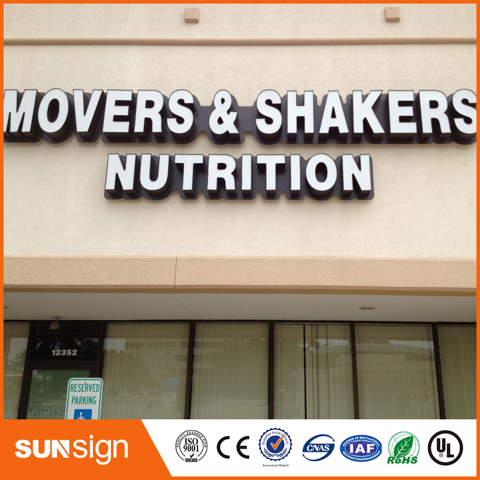 Custom Frontlit Led Advertising Signage