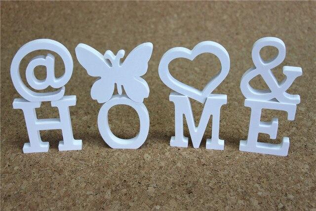 Decorazioni In Legno Per La Casa : Cm wedding decorative artificiali lettere di legno per la casa