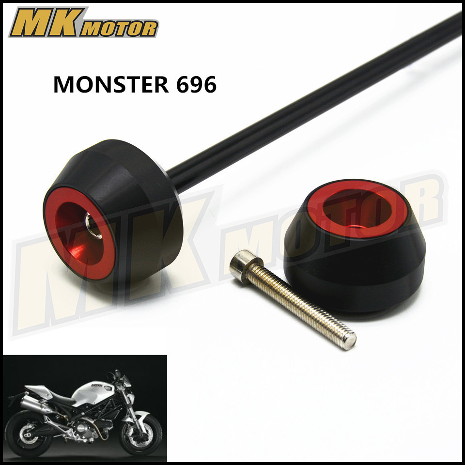 Free delivery For DUCATI MONSTER 696 2008 2013 CNC Modified Motorcycle drop ball / shock absorber