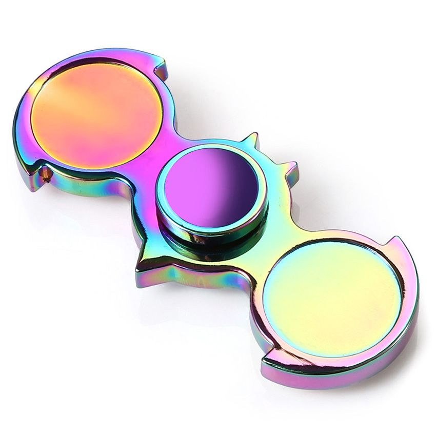 Hot Sale Bat Metal Fidget Spinner Ultra Bearings Finger Hand Custom Bearing EDC Fidget Toys