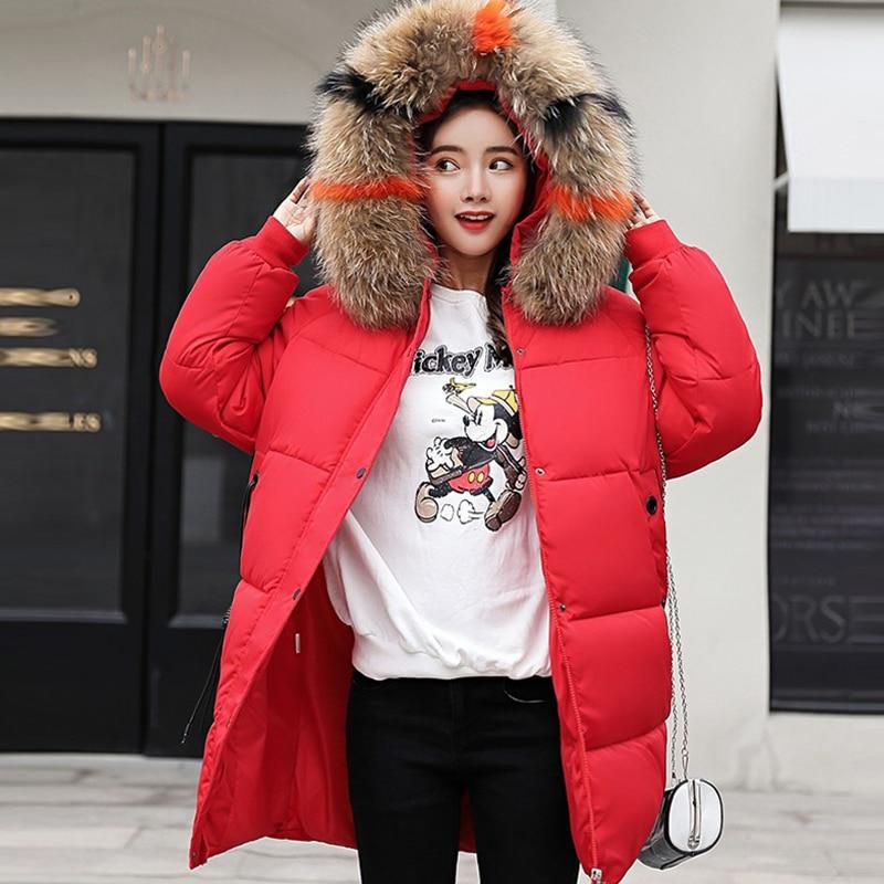 rust caramel Épais Manteau Hoodies Et Red Automne L'ukraine 3xl 2018 blanc Col Green Taille Hiver Femelle Chaud De Parka Plus Noir La Long Casual Fourrure army Veste Femmes rouge x04nfYnZ